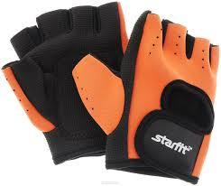 Перчатки StarFit SU-107 оранжевые/черные