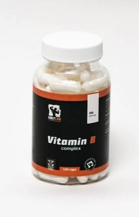 Vitamin B complex 100 caps KultLab