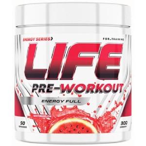 LIFE PRE-Workout 50 serv (вкус) TREE OF LIFE