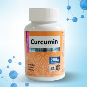 Комплексная пищевая добавка Куркумы экстракт 60 капсул CHIKALAB