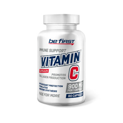Vitamin C 90 caps Be First
