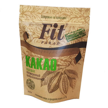 Какао обезжиренный 150 гр. ФитПарад