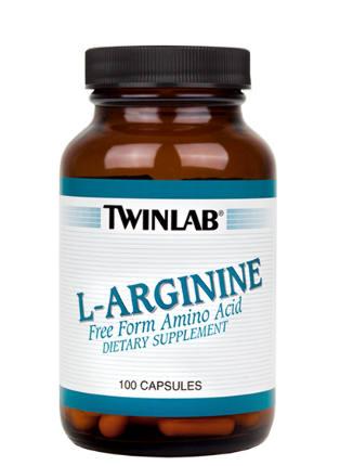 L-Arginine 500mg/100caps TWINLAB