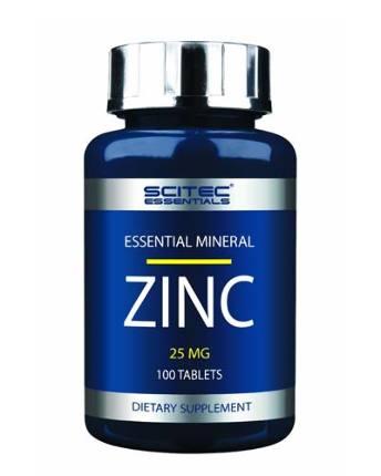 Zinc 100 tab SciTec