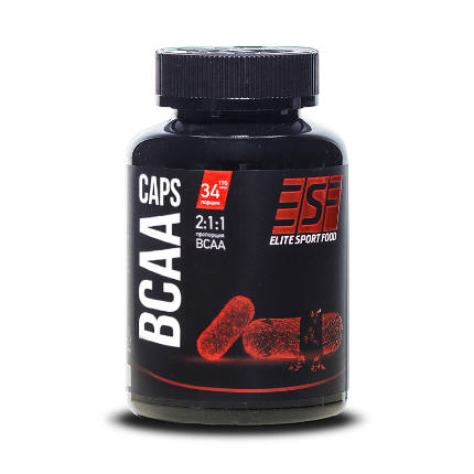 BCAA caps Elite Sport Food