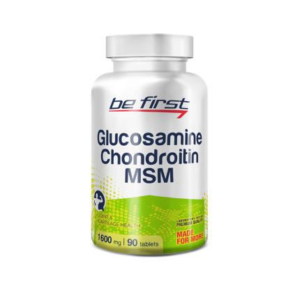 Glucosamine+Chondroitin+MSM (90 таб) Be First