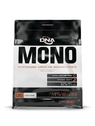 Creatine monohydrate 500 gr DNA