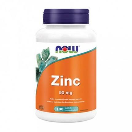 Zinc Gluconate 50 mg 100 tab NOW