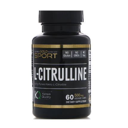 L-citrulline 60 cap California Gold Nutrition