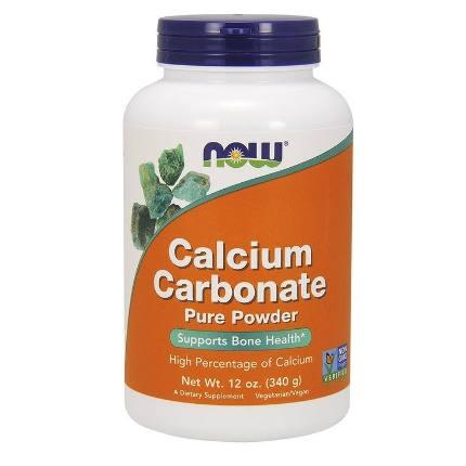 Calcium Carbonate 340 g NOW