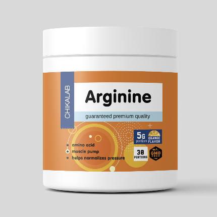 Аргинин 150 гр апельсин CHIKALAB