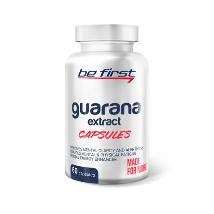 Guarana extract capsules (60 капсул) Be First