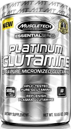 Glutamine Platinum 300 гр MuscleTech