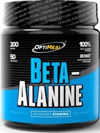 Beta-Alanine (без вкуса) 200 гр (50 порций) OptiMeal