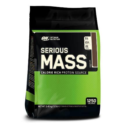 Serious Mass пакет 12 lb (5,54 kg) Optimum Nutrition