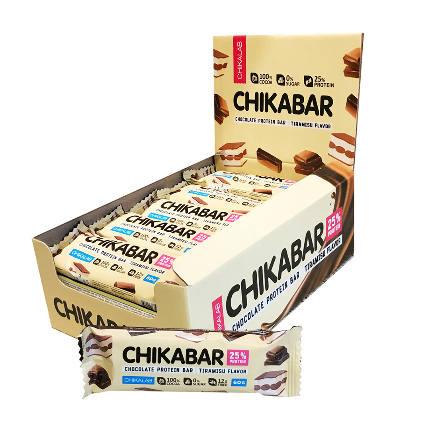 Батончик протеиновый в шоколаде 60гр.x20шт. CHIKALAB