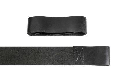 Лямки для тяги кожаные без вставок (арт 652) Be First