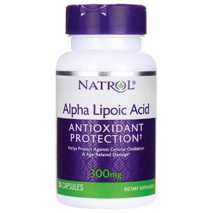Alpha Lipoic Acid 300 mg 50 caps NATROL