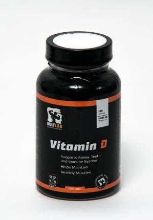 Vitamin D3 5000 ME 100 caps KultLab
