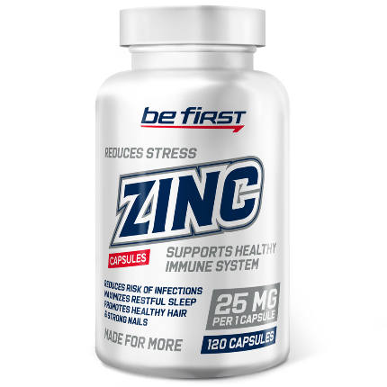 Zinc 120 caps Be First