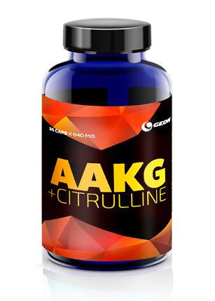 AAKG Citrulline 90 caps 640 мг GEON