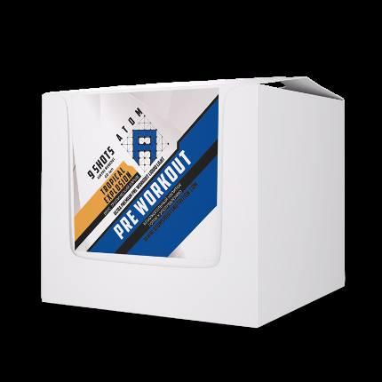 PRE WORKOUT liquid Shot - 9 шотов 60 ml Atom Nutrition