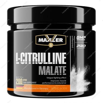 L-Citruline Malate 200 g без вкуса MAXLER