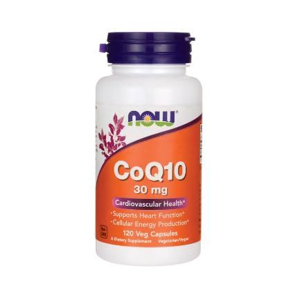 CoQ10 30 mg 120 cap NOW
