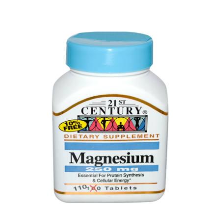 Magnesium 250 mg 110 tab 21St Century