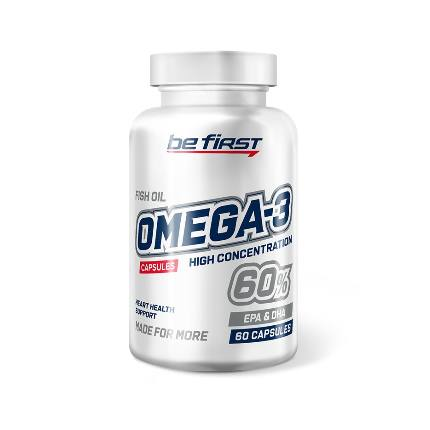 Omega-3 60% HIGH CONCENTRAT 60 caps BeFirst