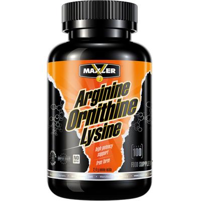 Arginine-Ornithine-Lysine 100caps MAXLER