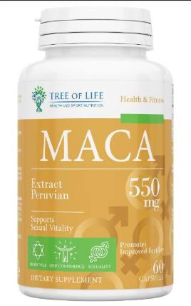 LIFE MACA 550 mg 60 caps TREE OF LIFE