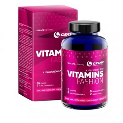 Fashion Vitamins 640 мг 120 капс GEON