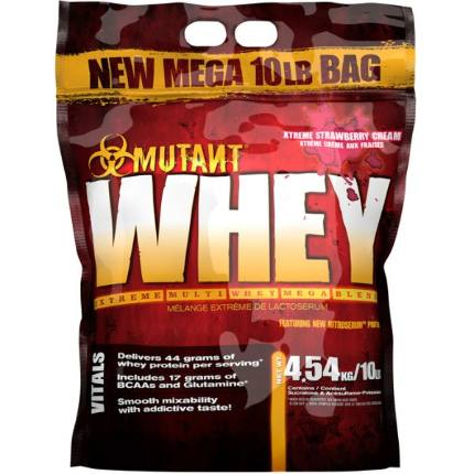 Whey 10lb (4,54 kg) MUTANT