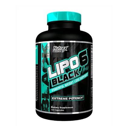 LIPO 6 Black HERS 120 caps Nutrex