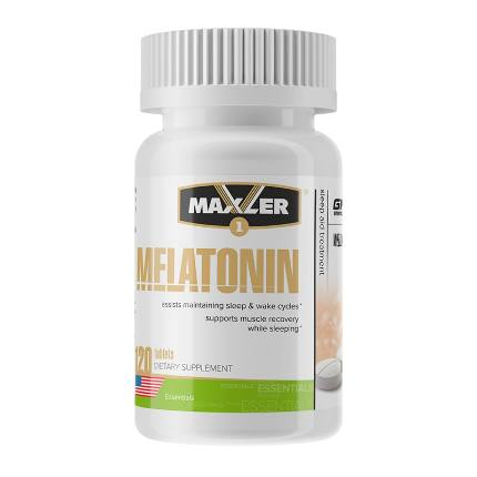 Melatonin 3 mg 120 tab MAXLER