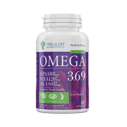 LIFE Omega 3-6-9 60caps TREE OF LIFE