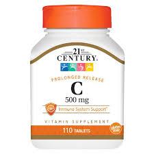 Vitamin C 500 mg 110 tab 21St Century