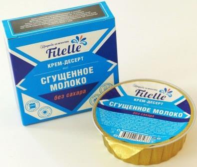 Крем-десерт 100 гр. ФитПарад