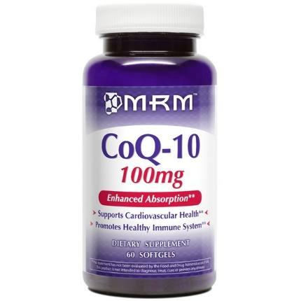CoQ-10 100 mg 60 caps MRM