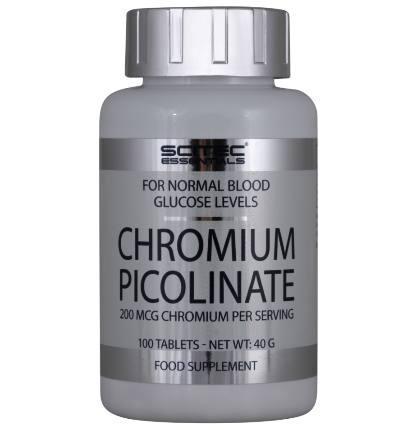 Chromium Picolinate 100 tab SciTec