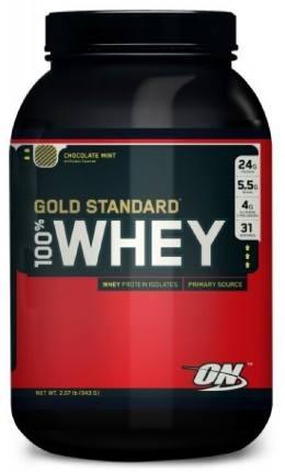 100 % Whey Protein Gold Standard 2 lb (908 g) Optimum Nutrition