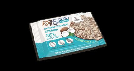 Протеино-злаковые хлебцы 55гр.х12шт. ProteinRex