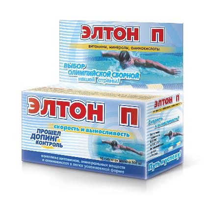 Элтон П таб. 500 мг. №60 (скорость и выносливость спортсменов)