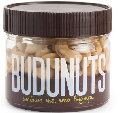 Десерт ореховый BUDUNUTS Кешью в шоколаде 230 г