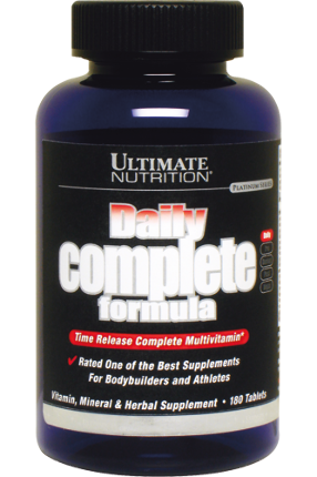 Daily Complete Formula 180 tab Ultimate Nutrition