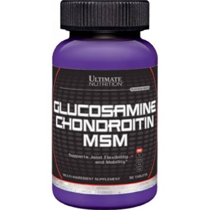 Glucosamine+Chondroitin+MSM 90 tab Ultimate Nutrition