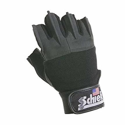 Перчатки муж черные 715 Schiek Lifting