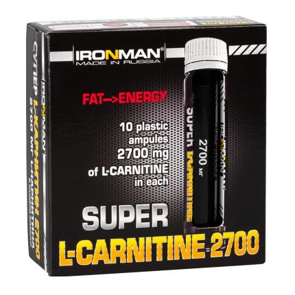 L- Карнитин 2700 25мл IRONMAN (Лимон-апельсин)