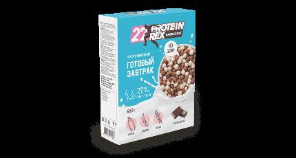Готовый завтрак с высокимсодержанием протеина 250 гр.ProteinRex